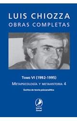Papel METAPSICOLOGIA Y METAHISTORIA 4 T.VI
