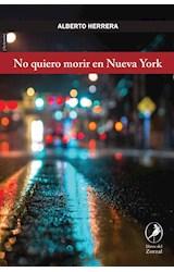 Papel NO QUIERO MORIR EN NUEVA YORK
