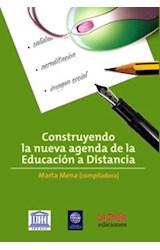 Papel CONSTRUYENDO LA NUEVA AGENDA DE LA EDUCACION A DISTANCIA
