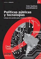Libro Politicas Publicas Y Tecnologicas