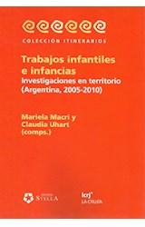 Papel TRABAJOS INFANTILES E INFANCIAS (INVESTIGACIONES EN TERRITOR