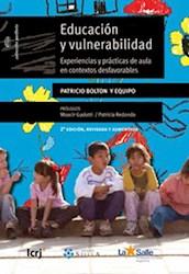 Libro Educacion Y Vulnerabilidad