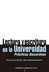 Libro Lectura Y Escritura En La Universidad