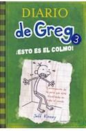Papel DIARIO DE GREG 3 ESTO ES EL COLMO (CARTONE)