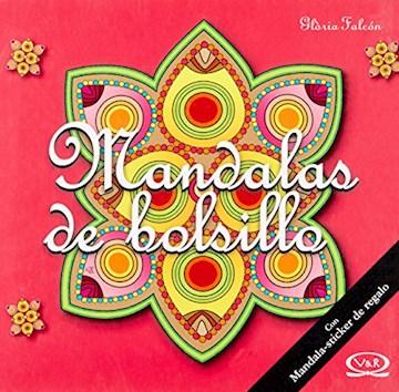 Papel Mandalas De Bolsillo (10) -  Tapa Roja