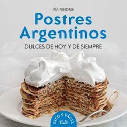 Papel Postres Argentinos Dulces De Hoy Y  Siempre