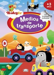 Papel Baby Tv Medios De Transporte C/Stickers