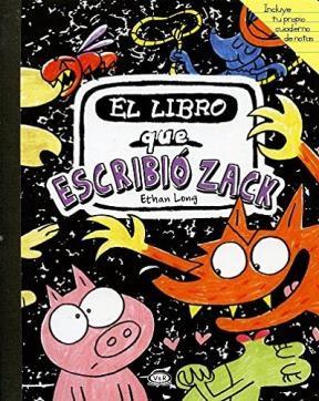 Papel El Libro Que Escribio Zack