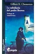 Papel SABIDURIA DEL PADRE BROWN (COLECCION MODELO PARA ARMAR) (62) (PROLOGO DE GABRIEL SOSA) (BOLSILLO)