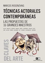 Libro Tecnicas Actorales Contemporaneas