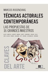 Papel TECNICAS ACTORALES CONTEMPORANEAS