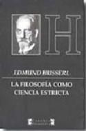 Papel FILOSOFIA COMO CIENCIA ESTRICTA (CARONTE FILOSOFIA)