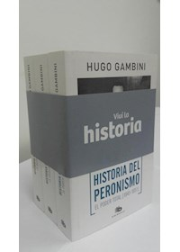 Papel Pack De 3 Libros: Historia Del Peronismo