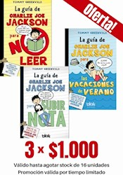 Libro Pack Charlie Joe Jackson