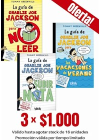 Papel Pack De 3 Libros: Charlie Joe Jackson