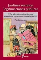 Libro Jardines Secretos  Legitimaciones Publicas