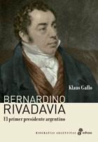 Libro Bernardino Rivadavia