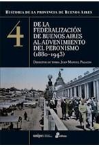 Papel HISTORIA DE LA PROVINCIA DE BUENOS AIRES 4 DE LA FEDERALIZAO