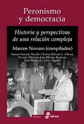 Libro Peronismo Y Democracia