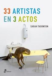 Libro 33 Artistas En 3 Actos