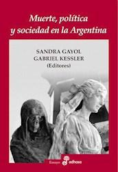 Libro Muerte  Politica Y Sociedad En La Argentina