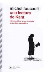 Papel UNA LECTURA DE KANT (INTRODUCCION A LA ANTROPOLOGIA EN SENTI