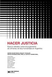 Libro Hacer Justicia