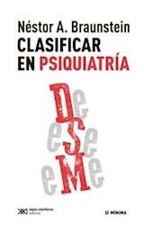 Papel CLASIFICAR EN PSIQUIATRIA