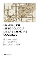Libro Manual De Metodologia De Las Ciencias Sociales
