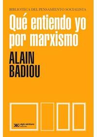 Papel Que Entiendo Yo Por Marxismo