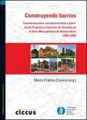 Libro Construyendo Barrios