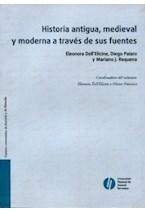 Papel HISTORIA ANTIGUA, MEDIEVAL Y MODERNA A TRAVES DE SUS FUENTES