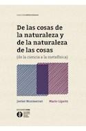 Papel DE LAS COSAS DE LA NATURALEZA Y DE LA NATURALEZA DE LAS COSAS (DE LA CIENCIA A LA METAFISICA) (RUSTI