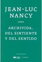 Papel ARCHIVIDA DEL SINTIENTE Y DEL SENTIDO