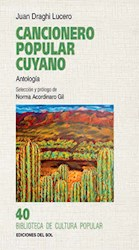 Libro Cancionero Popular Cuyano