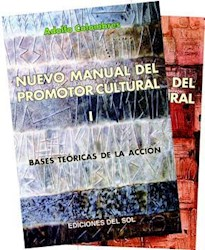 Libro Nuevo Manual Del Promotor Cultural  2 Tomos