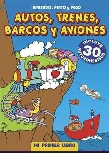 Papel Autos, Trenes, Barcos Y Aviones