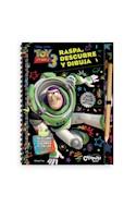Papel TOY STORY 3 RASPA DESCUBRE Y DIBUJA (DISNEY PIXAR) (CAR  TONE ANILLADO)
