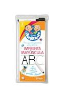 Papel MINI ABREMENTE IMPRENTA MAYUSCULA 40 PAGINAS CON ACTIVIDADES PARA ESCRIBIR Y BORRAR (4 AÑOS)