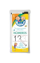Papel MINI ABREMENTE NUMEROS 40 PAGINAS CON ACTIVIDADES PARA ESCRIBIR Y BORRAR (4 AÑOS)