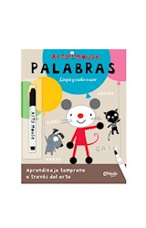 Papel ARTY MOUSE PALABRAS LIMPIA Y VUELVE A USAR