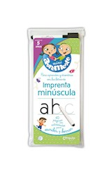 Papel MINI ABREMENTE IMPRENTA MINUSCULA 40 PAGINAS CON ACTIVIDADES PARA ESCRIBIR Y BORRAR (PARA 5 AÑOS)