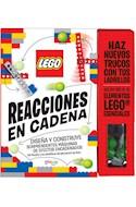 Papel REACCIONES EN CADENA (LEGO) (78 PAGINAS + 36 ELEMENTOS LEGO + 6 FONDOS DESPLEGABLES) (CARTONE)