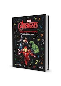 """Papel Raspa Descubre Y Colorea: Avengers"""""""