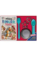 Papel FINGER FOOD (INCLUYE PINCEL + 2 CORTANTES + 1 CUCHARA DE HELADO + 1 MOLDE PARA TARTALETA)