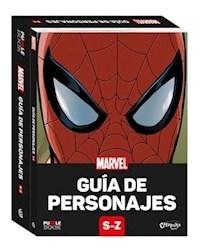 Libro Marvel: Gua De Personajes S- Z (Spider Man)