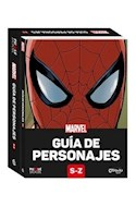 Papel MARVEL GUIA DE PERSONAJES S-Z (PUZZLE BOOK) [LIBRO + ROMPECABEZAS DE 300 PIEZAS DE 35 X 30]  SPIDERM