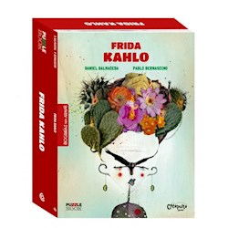 Papel Frida Kahlo - Puzzle Book