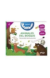 Papel ANIMALES DEL BOSQUE (COLECCION MINI ABREMENTE) [3 A 5 AÑOS] [+40 ACTIVIDADES] (CARTONE)