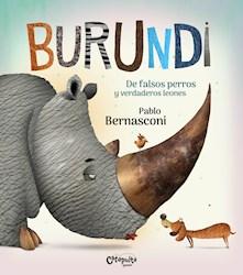 Papel Burundi - De Falsos Perros Y Verdaderos Leones